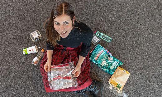 Sarah Ruckhofer fastet Plastik