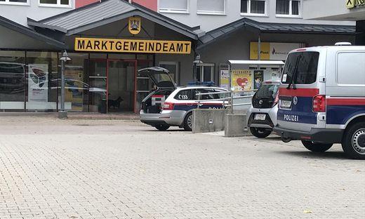 Das Gemeindeamt in Arnoldstein wird wieder evakuiert