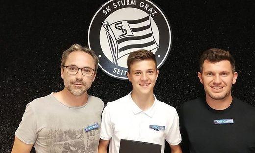 Von links: Günther Neukirchner, Moritz Wels und Andreas Schicker
