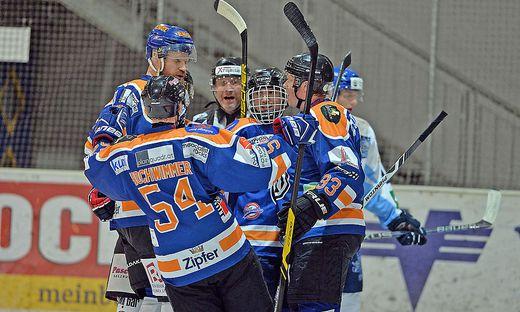 Die Salzburger Oilers hatten Grund zum Jubeln