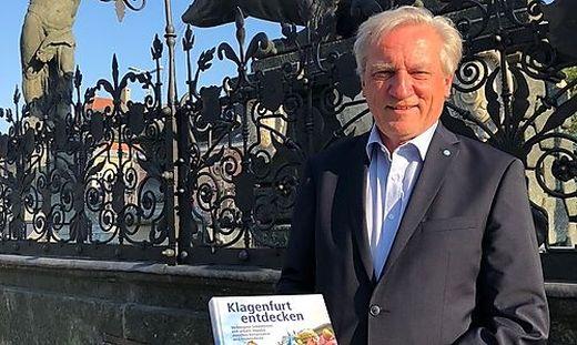 Johann Lach lädt im neuen Bildband auf eine Entdeckungsreise durch Klagenfurt ein