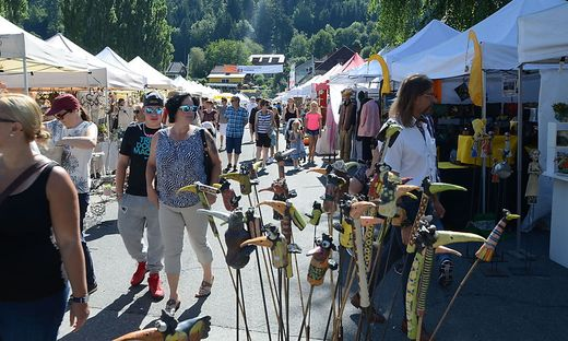 Der Kunsthandwerksmarkt findet heuer zum 35. Mal statt