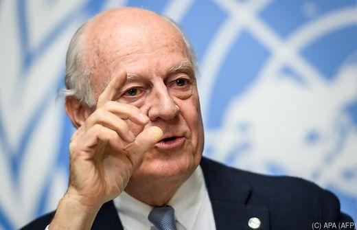 Kurz und Kneissl empfingen UNO-Sondergesandten zu Syrien