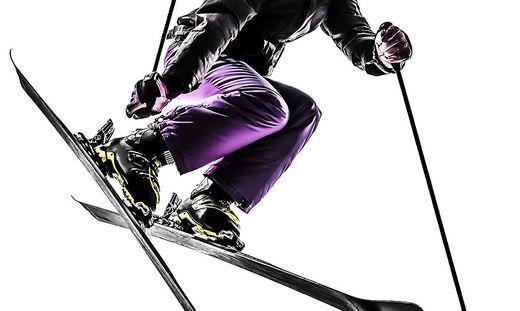 Die Skifahrerin (Sujetbild) wurde schwer verletzt