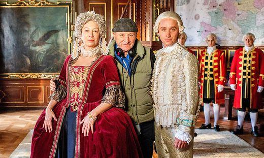 Ursula Strauss mit Robert Dornhelm und Aaron Friesz