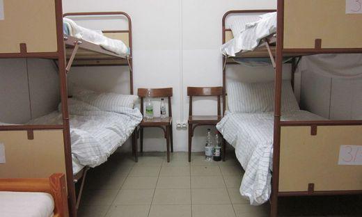 Dringend gebraucht: die Winternotschlafstelle der Caritas