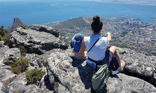 Mit 16 Monaten in Kapstadt