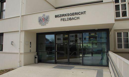 Eingang des Bezirksgerichts Feldbach