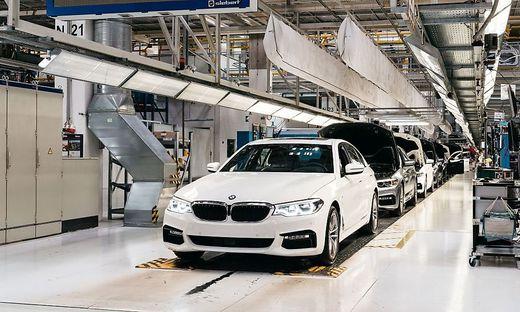 Der 5er-BMW wird derzeit in Graz gefertigt