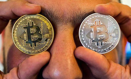 Mit Bitcoin eingeschaut