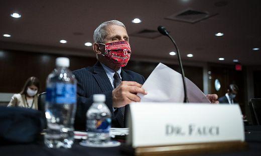 Anthony Fauci hatte in Interviews offen seine Sorge angesichts der Entwicklung der Pandemie in den USA geäußert