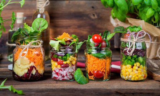 Suppen, Salate und gesunde Snacks gibt es in der Greenbox in den City Arkaden.