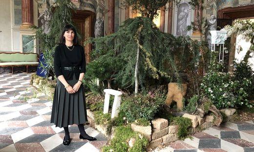 Alice Stori Liechtenstein eröffnet die Ausstellung am Samstag per Live-Stream