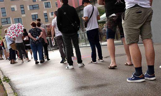 Mehr als 1000 Dosen wurden in St. Veit am Wochenende verimpft