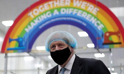 Großbritanniens Prime Minister Boris Johnson