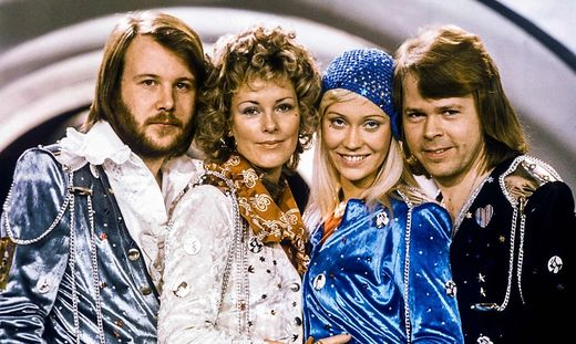 Die schwedische Kulttruppe ABBA