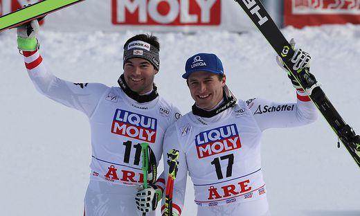 Kriechmayr (links) und Mayer