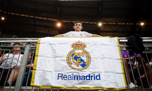 Real Madrid war vor kurzem in Klagenfurt zu Gast