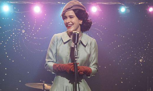 """Rachel Brosnahan in """"The Marvelous Mrs. Maisel"""""""