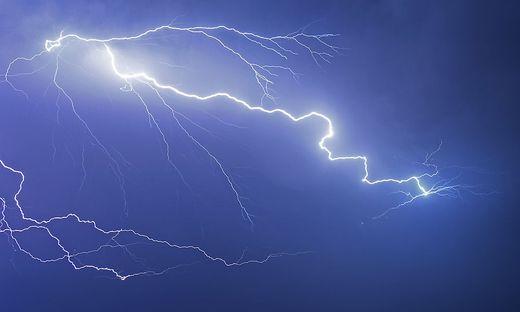 Unwetter Gewitter Blitz