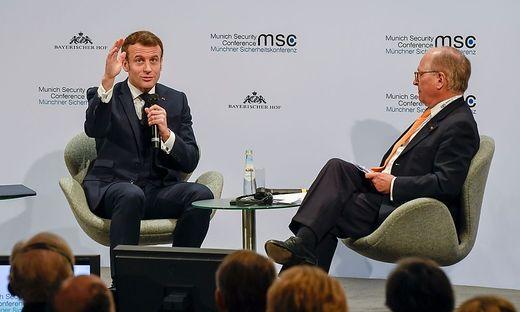 Macron und Ischinger