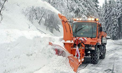 Ab Donnerstag soll es in Kärnten und Osttirol ergiebig schneien (Archivfoto)