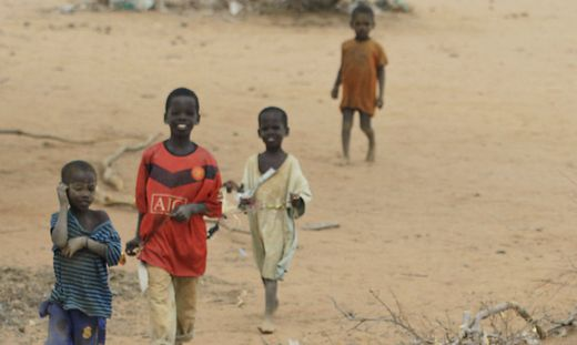 Kenya East Africa Drought