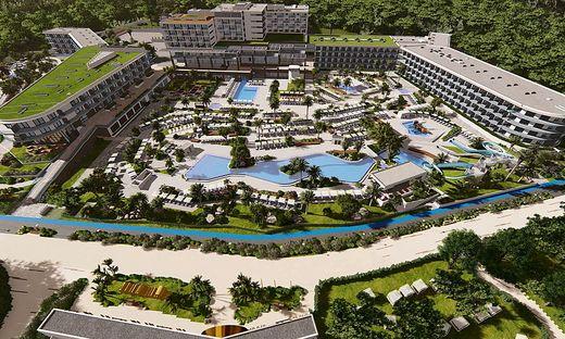 Das Modell für das neueste Valamar-Resort in Kroatien, das 2021 in Porec eröffnen soll. Spatenstich ist am 1. Oktober