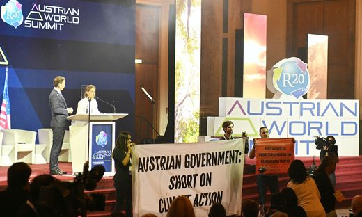 R20 AUSTRIAN WORLD SUMMIT: KURZ