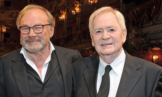Klaus Maria Brandauer und Istvan Szabo haben wieder einen Film zusammen gedreht