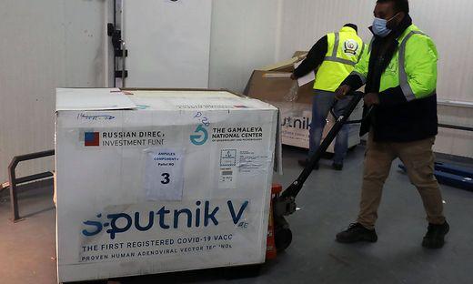 """""""Sputnik V"""" könnte auch bald in Österreich verimpft werden."""