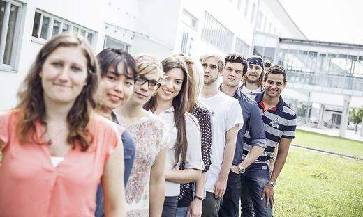 2000 der 12.000 Studierenden kommen aus dem Ausland