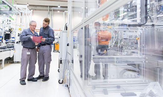 Vier Produktionslinien stehen im Samsung SDI Werk in Premstätten