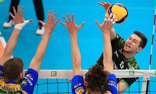 VOLLEYBALL - Volley League men, Graz vs. Aich/Dob