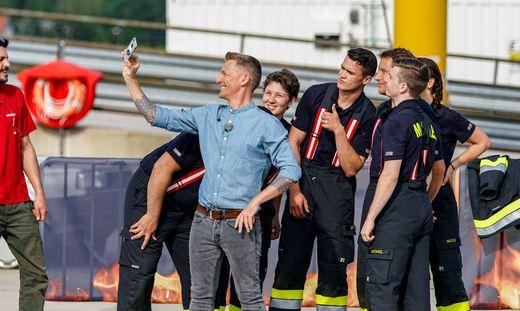 'Feuer und Flamme' - Die ORF-TV-Challenge fuer Oesterreichs freiwillige Feuerwehren