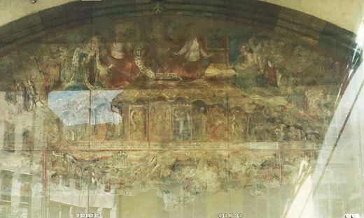 Das Gottesplagenbild am Grazer Dom