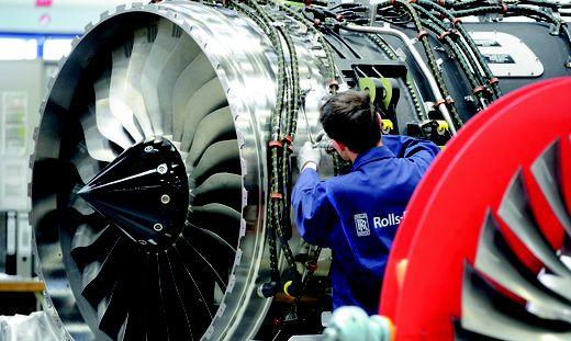 Rolls-Rocye gilt als einer der größten Triebwerkbauer