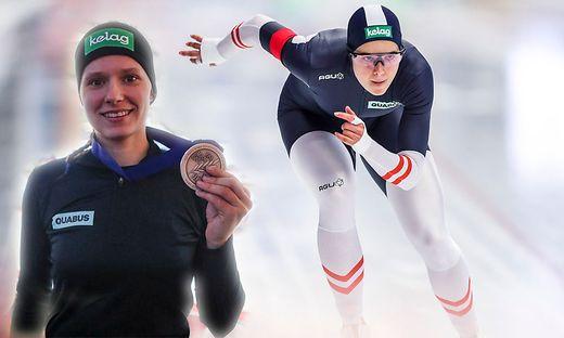 Nach WM-Gold über 500 Meter wurde Vanessa Herzog über 1000 Meter Vizeweltmeisterin