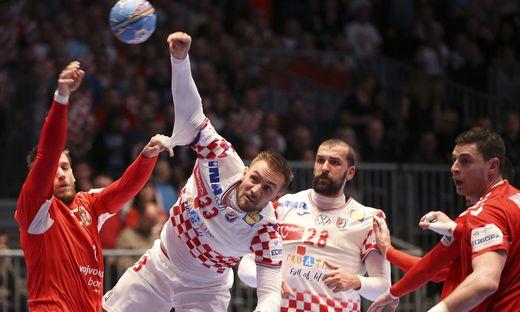 HANDBALL - EHF EURO 2020, SRB vs CRO