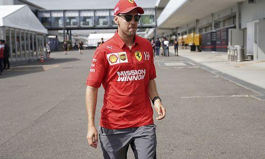 Vettel räumte Fehler ein