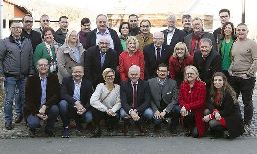 Bürgermeister Helmut Leitenberger präsentierte sein Team für Leibnitz