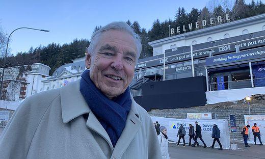 Der gebürtige Villacher und Ex-Nestlé-Boss Peter Brabeck-Letmathe