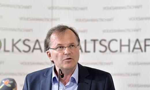 Volksanwalt Günther Kräuter