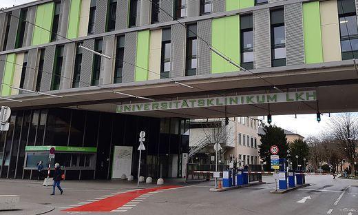 CORONAVIRUS - ERSTER VERDACHTSFALL IN SALZBURG: UNIKLINIKUM