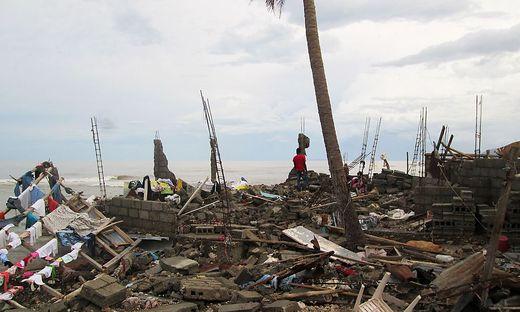Hurrikan Matthew zieht eine Spur der verwüstung nach sich