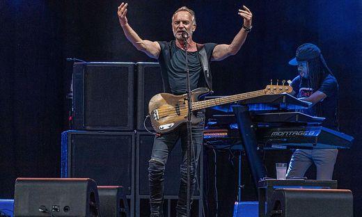 """Sting präsentierte auf dem Freigelände der Grazer Messe """"My Songs"""""""