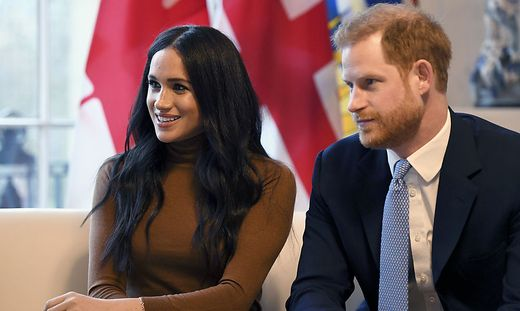 Harry und Meghan wollen in Zukunft finanziell unabhängig sein