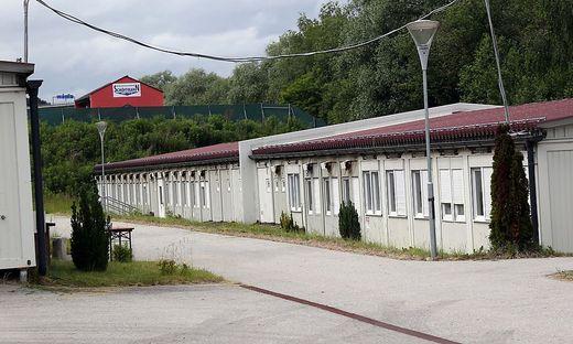 Die Asylunterkunft in Villach-Langauen