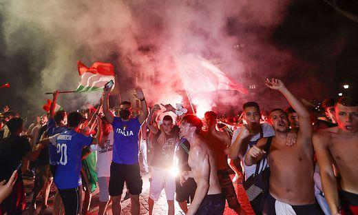 Die italienischen Feierlichkeiten forderten Tote und Verletzte