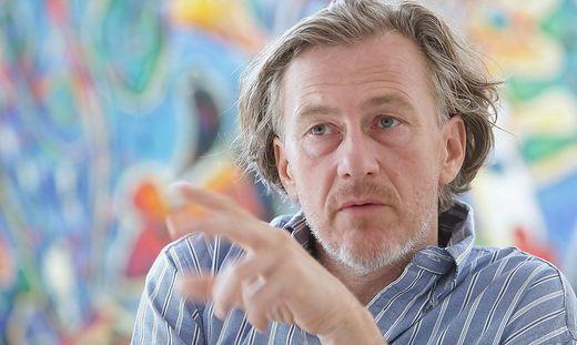 ARCHIVBILD: MALER  GUNTER DAMISCH VERSTORBEN